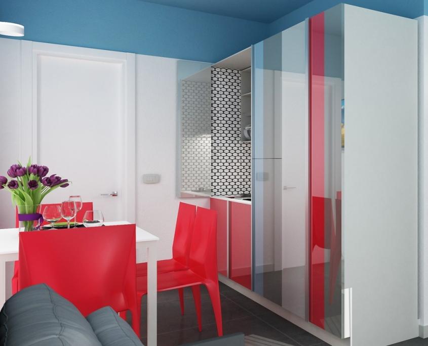 Appartamenti in Residence con piscina Riccione zona Marano
